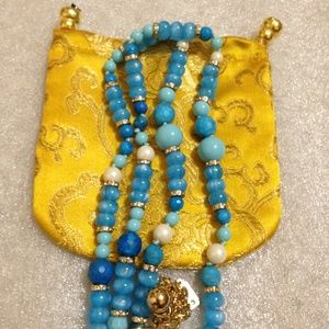 Sale!! KATE SPADE - Azure Allure Necklace- EUC